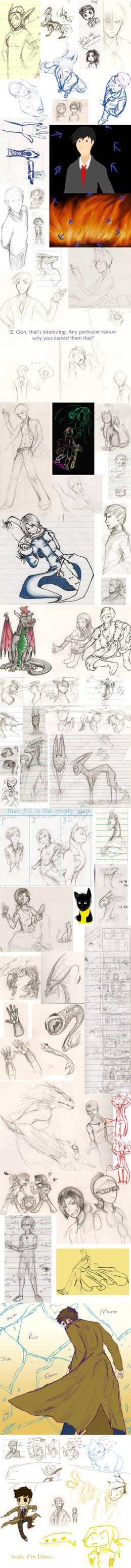 Sketch Dump--A METRIC TON