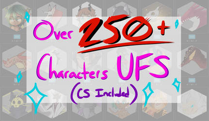 CHARACTERS UFS [open] CS/ONE-OFFS