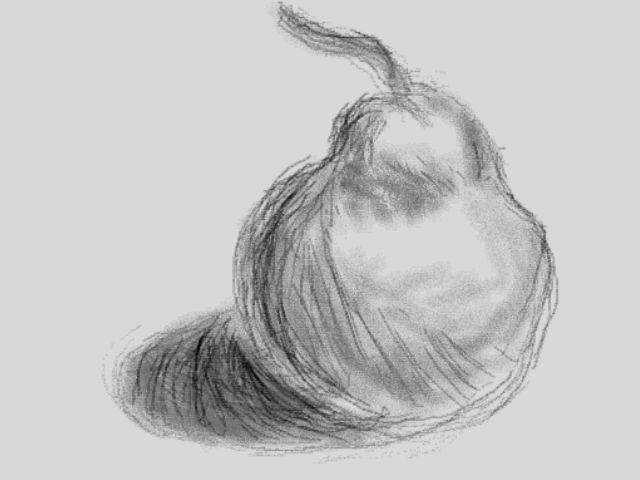 Pear--Art Academy Drawing By Kingboo7 On DeviantArt