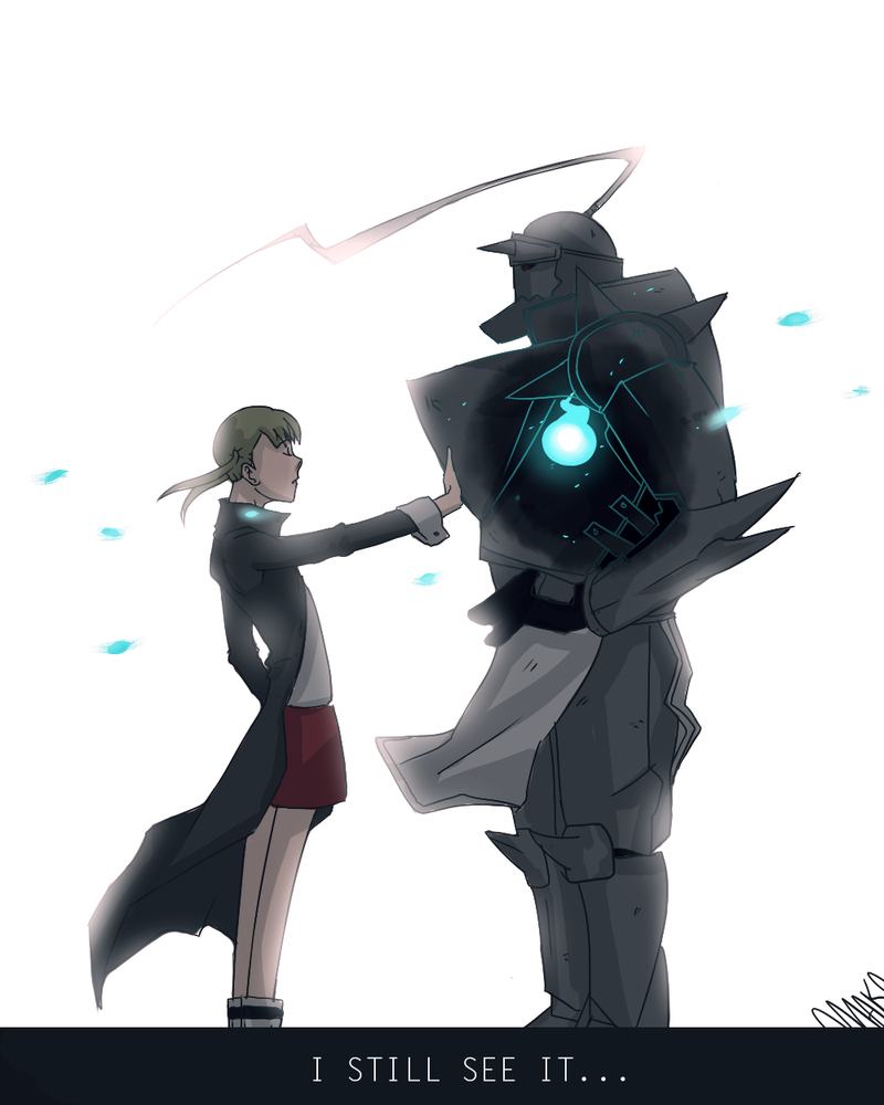 Maka and Alphose by artist-omako