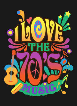 I Love the 70's Music