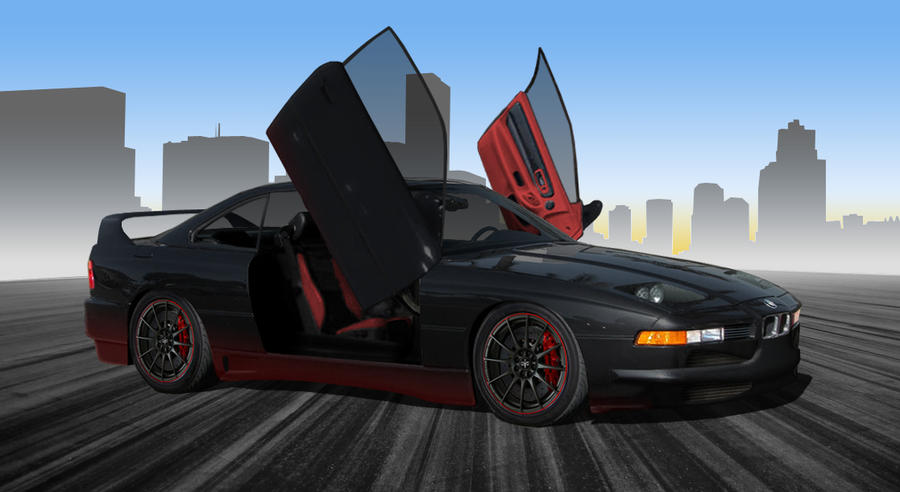 BMW 850i Virtual Tuning By WildfirePhoenix