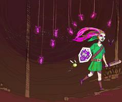 Zelda - Fairies by HylianDragonCatty