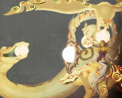 Zelda - Queen of Light by HylianDragonCatty