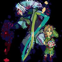 Zelda - Fierce Deity Mask by HylianDragonCatty