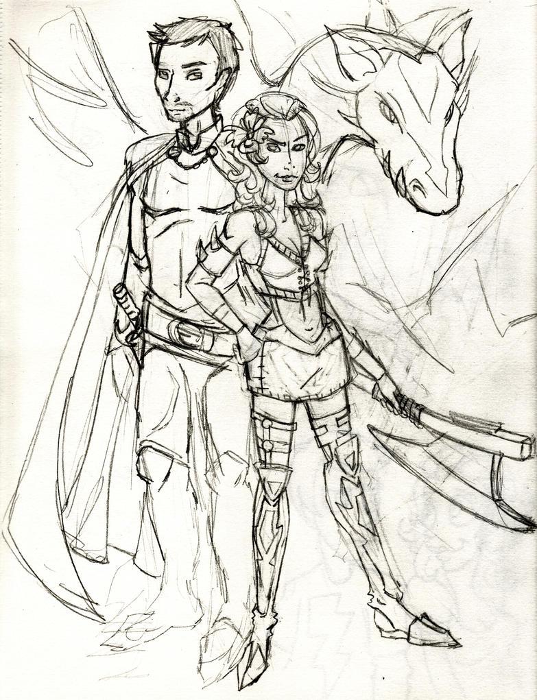 Sheldor and His Queen Penelope by TristaStrange01