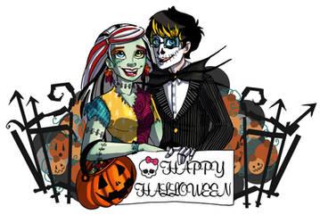 Halloween 2014 by StrangeMakesArt