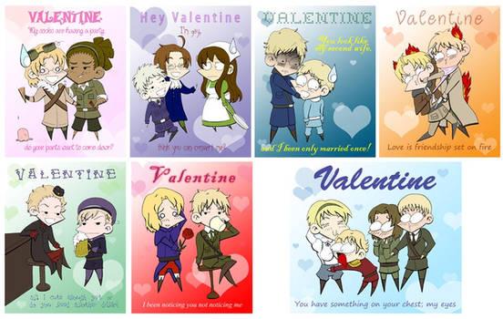 Hetalia Valentines 2011 by Kelissa
