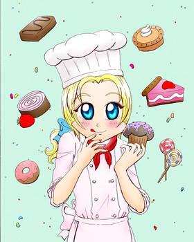 Chibi France Chef