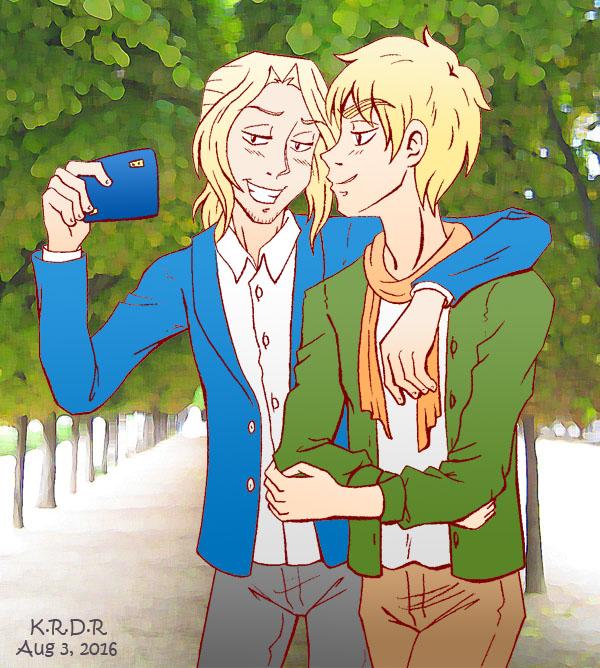 FRUKing together selfie by Kelissa