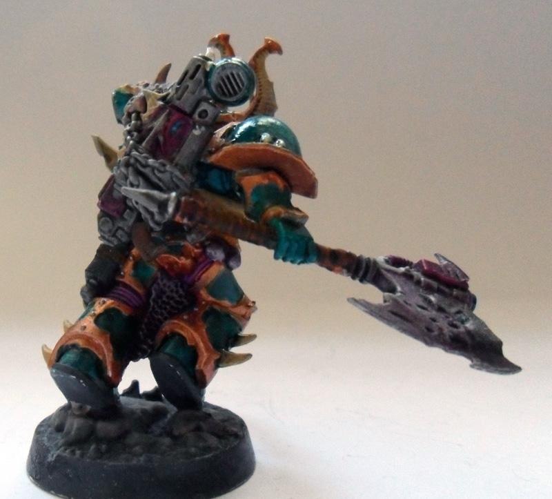 [Divers] Autres figurines : SMC, Eldars, Tyranides et non-GW Chaos_space_marine___chosen_champion__back__by_magegahell-d5wtawz