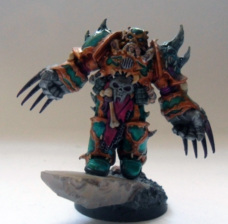 [Divers] Autres figurines : SMC, Eldars, Tyranides et non-GW Chaos_space_marine_chosen_with_lightning_claws_by_magegahell-d5wtazh