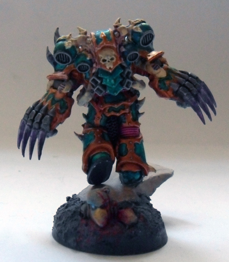 [Divers] Autres figurines : SMC, Eldars, Tyranides et non-GW Chaos_space_marine_chosen_with_lightning_claws_2_by_magegahell-d5wtb48