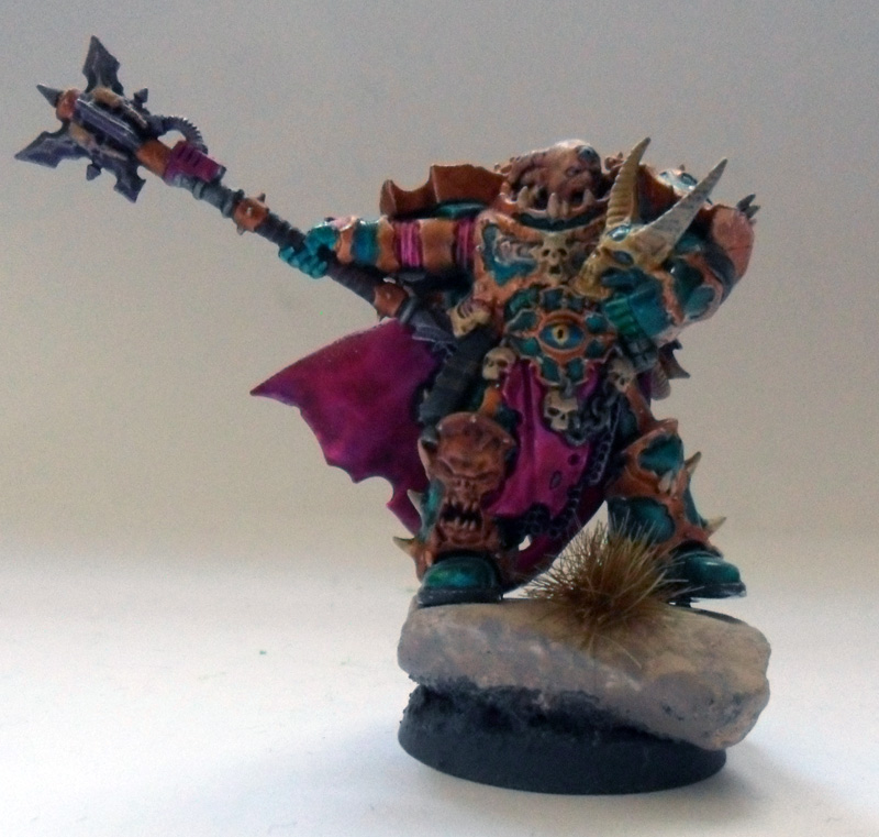 [Divers] Autres figurines : SMC, Eldars, Tyranides et non-GW Chaos_space_marine_chosen_with_power_mace_by_magegahell-d5wtb86