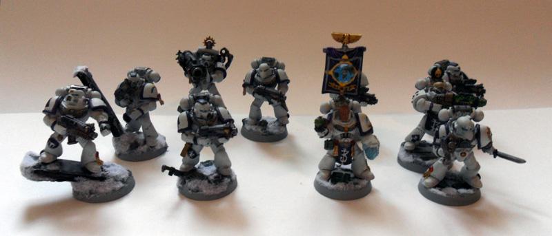 [Divers] Autres figurines : SMC, Eldars, Tyranides et non-GW Space_marines_tactical_squad_by_magegahell-d6p9uhr