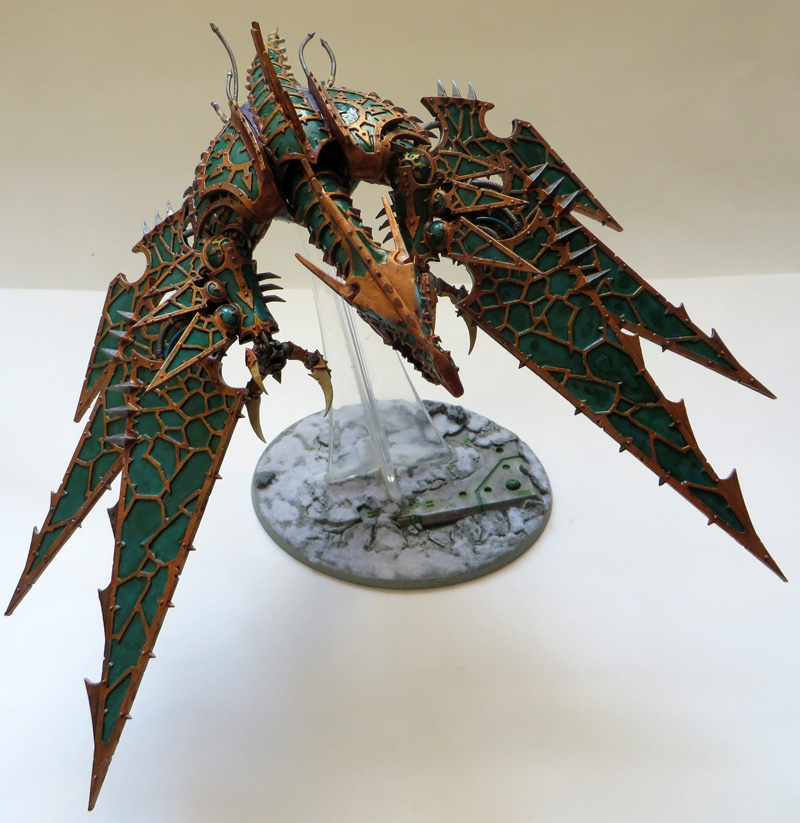 [Divers] Autres figurines : SMC, Eldars, Tyranides et non-GW Chaos_heldrake_by_magegahell-d7nawcv