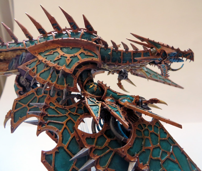 [Divers] Autres figurines : SMC, Eldars, Tyranides et non-GW Chaos_heldrake_04_by_magegahell-d7naxmh