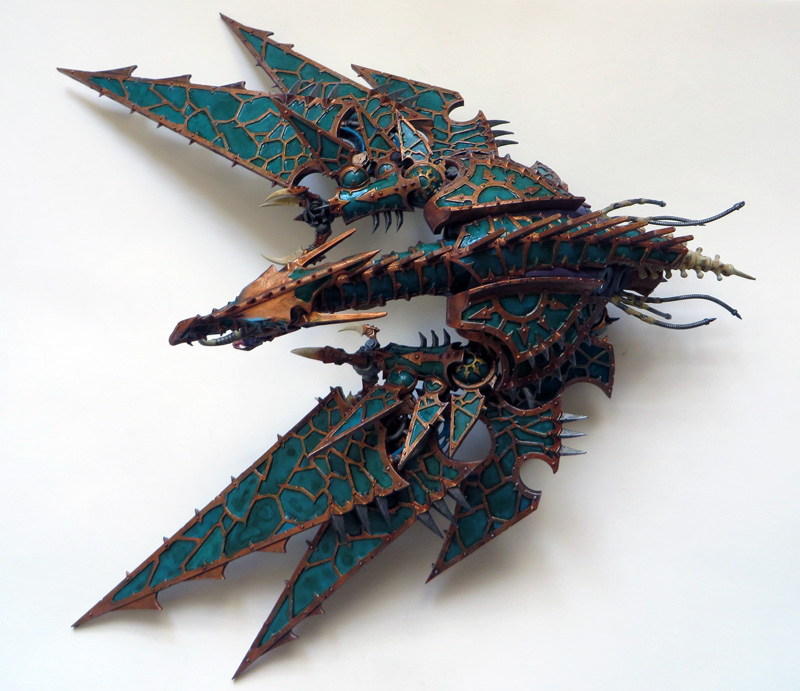 [Divers] Autres figurines : SMC, Eldars, Tyranides et non-GW Chaos_heldrake_06_by_magegahell-d7nay4n