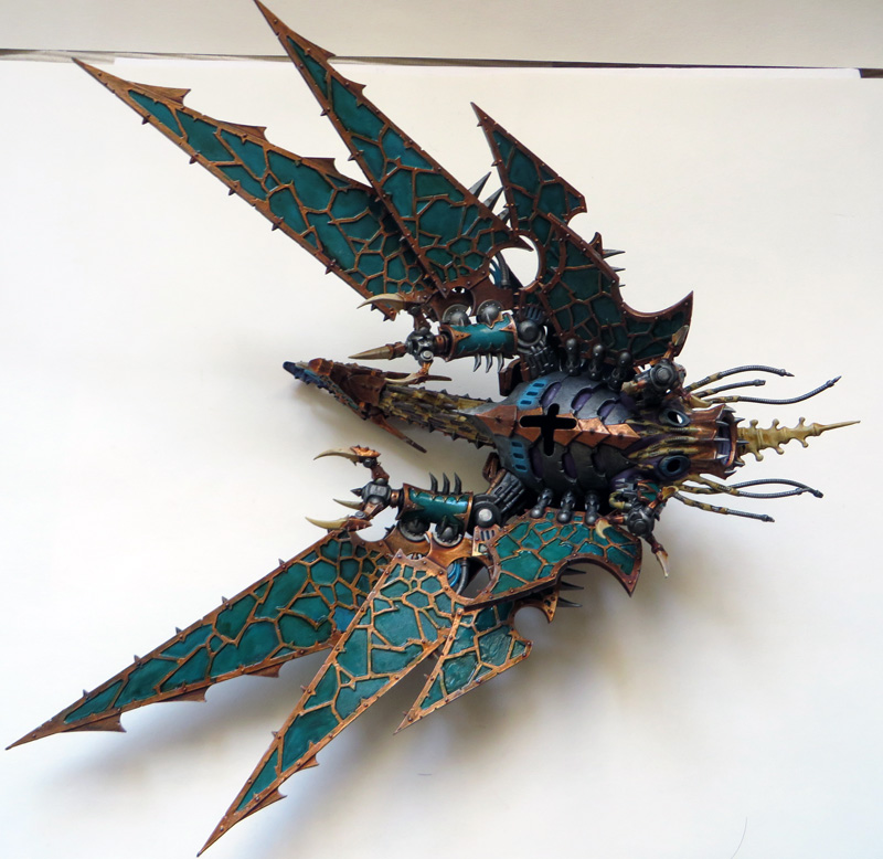 [Divers] Autres figurines : SMC, Eldars, Tyranides et non-GW Chaos_heldrake_07_by_magegahell-d7nayhf
