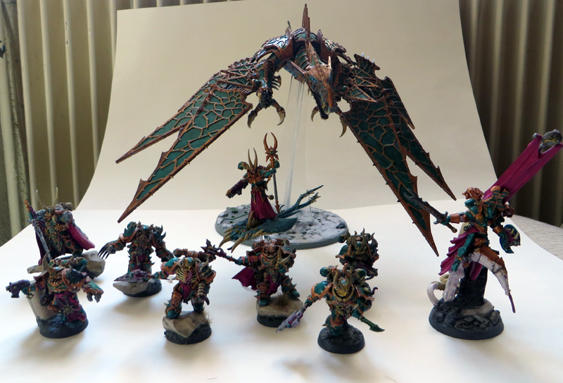[Divers] Autres figurines : SMC, Eldars, Tyranides et non-GW Chaos_space_marines_warband_by_magegahell-d7nayxs