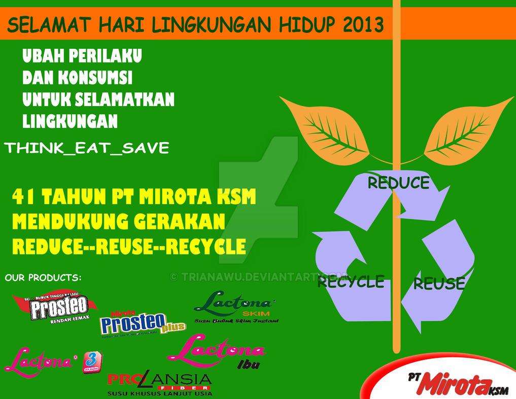 Peringatan Hari Lingkungan Hidup 5 Juni By Trianawu On Deviantart