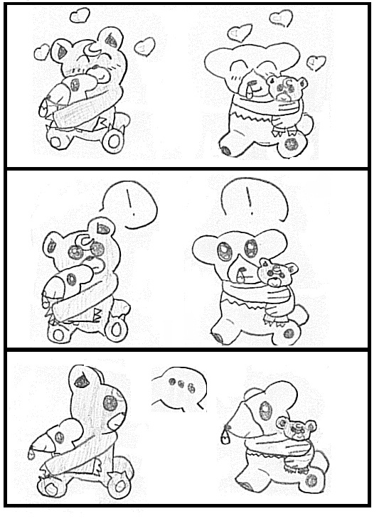 Pokemon Teddiursa And Cubchoo Cubchoo And Teddiursa by Kanoy