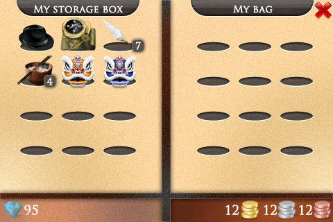 New Order and Chaos online bag interface 2013 by T0j