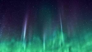 iOS 7 Green Nebula Wallpaper for Desktop