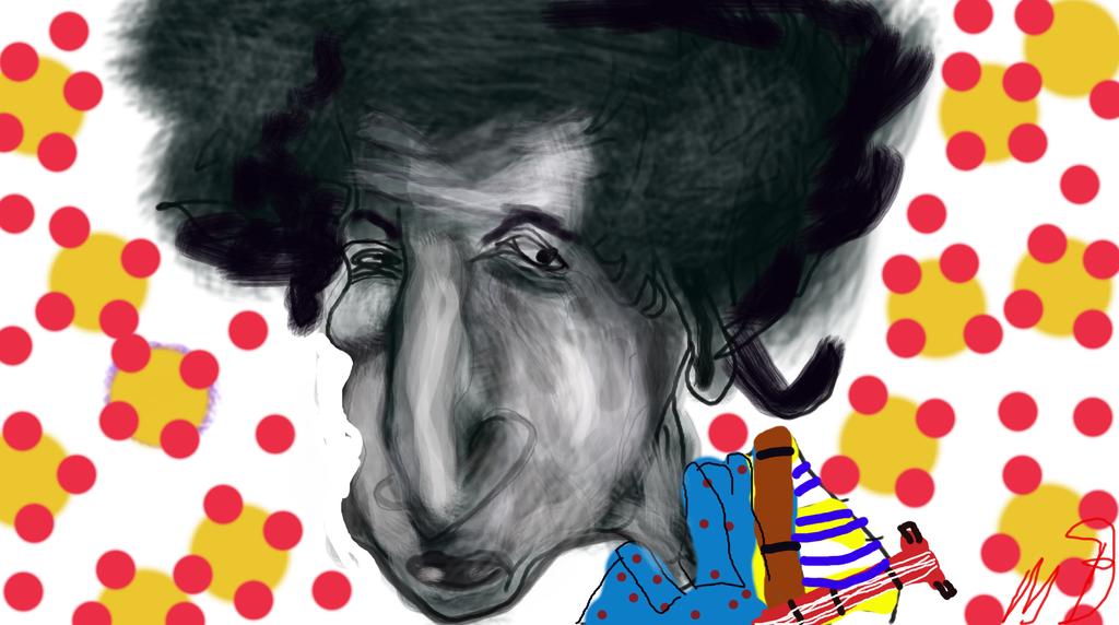 Bob Dylan by baran700