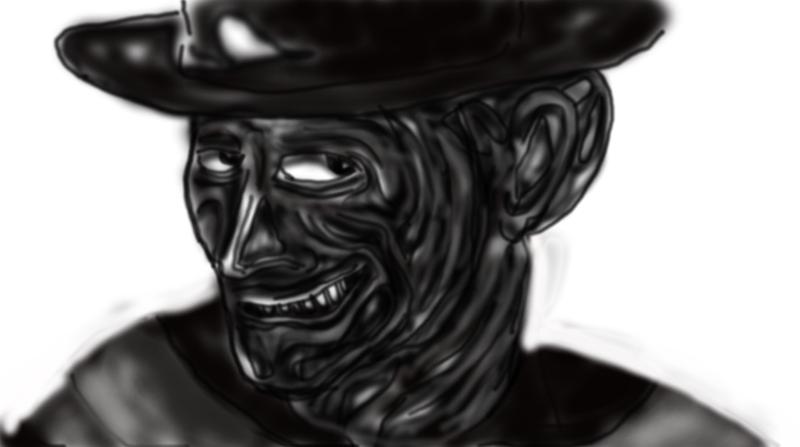 Airbrushed Freddy By Baran700 by baran700