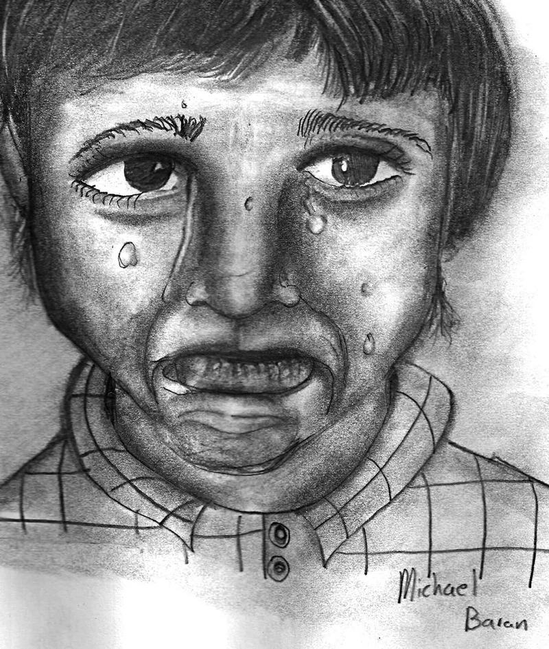 portrait of a kid by baran700