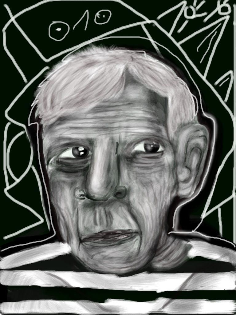 PABLO PICASSO BY ME BARAN 700 by baran700