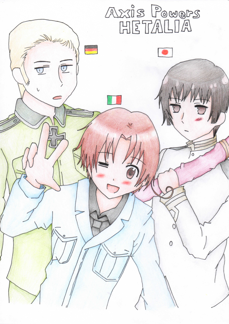 Axis Powers HETALIA! by SabakuNoChie