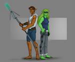 EX-plorers (Art by Inot)