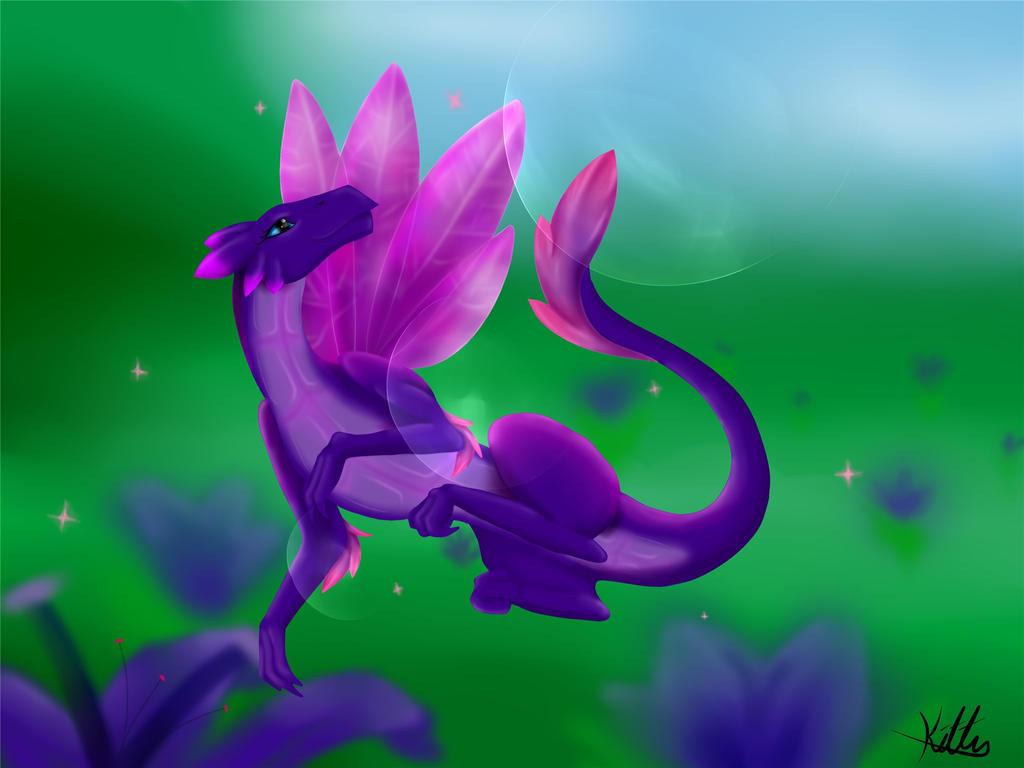 Fairy Dragon by okkittycat1011