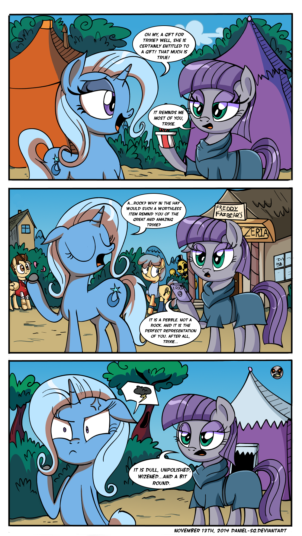 The Pony and the Pebble