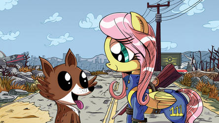 A Mare and her Dog by Daniel-SG