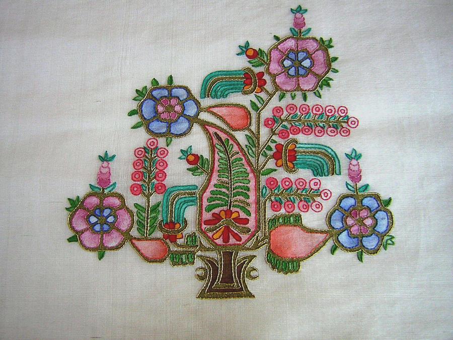 Raw Silk Table cloth 2 by Canankk