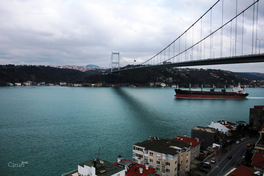 Bridge Between Two Continents by Canankk