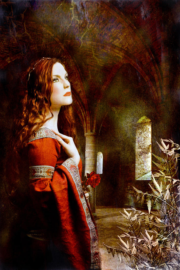 Pre-Raphaelite Painting by Canankk