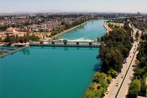 Seyhan River - Adana by Canankk