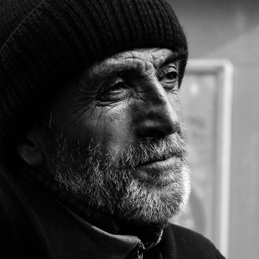 Male Portrait 5 by Canankk