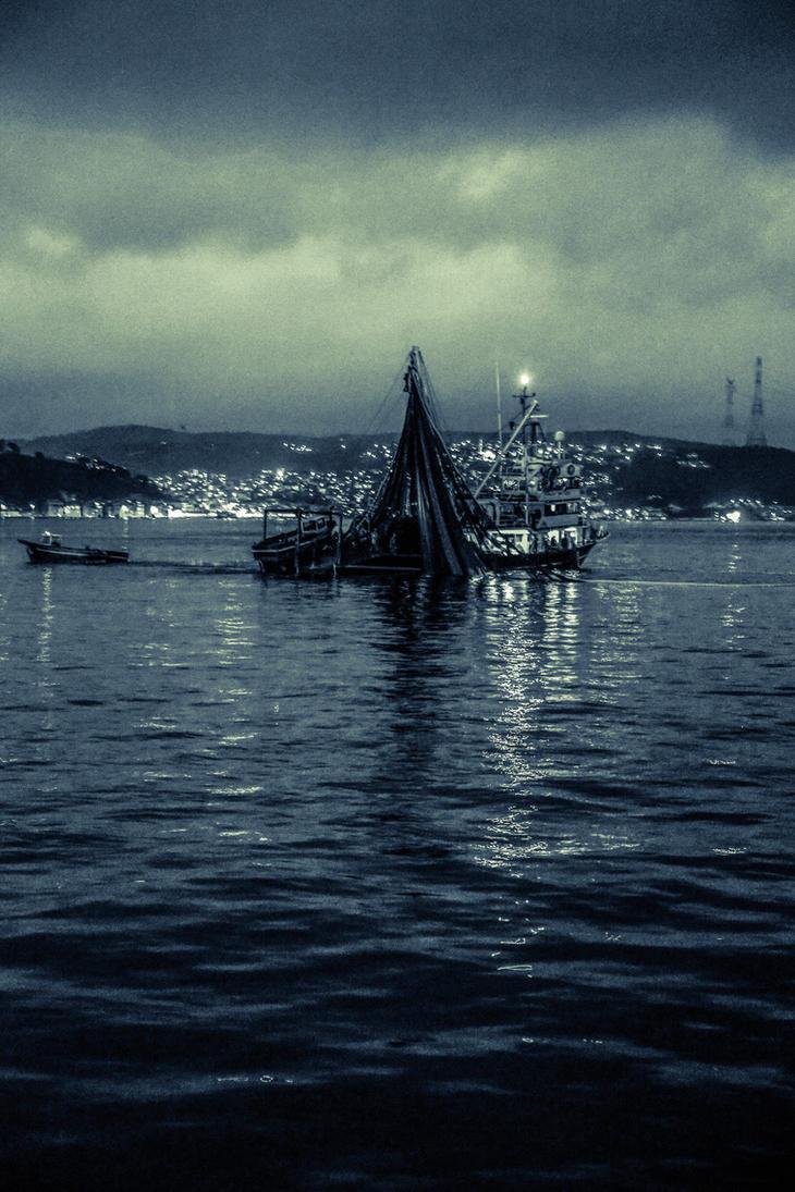 Night Fishing by Canankk