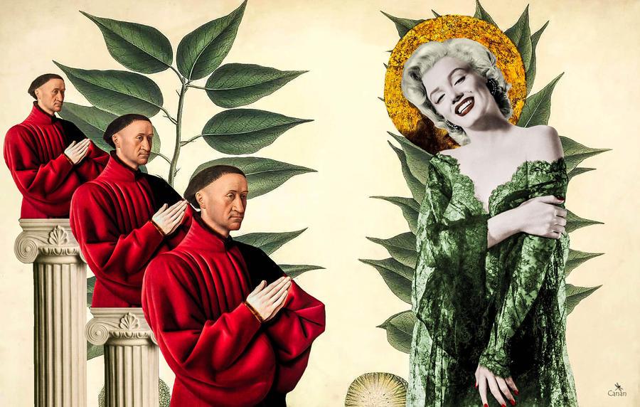 Saint Marilyn by Canankk