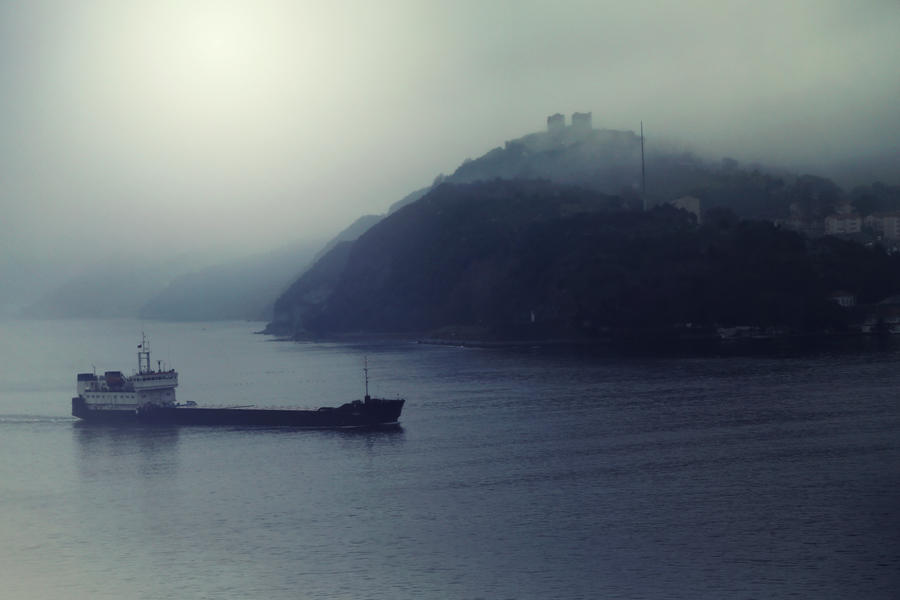 Mist Over Bosphorus by Canankk