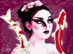 Koi Mermaid - SDK Paint wiiu