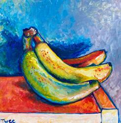 3 color challenge bananas