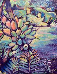 Majestic New Guinea Plantains