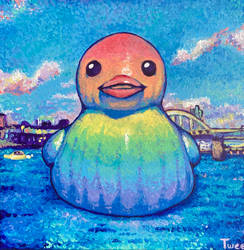 Majestic Giant Rubber Ducky