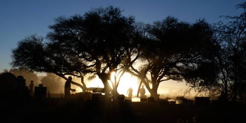 Sunrise at Camp by jbkz